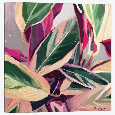 A Painted Plant Never Dies Canvas Print #TEP1} by Teddi Parker Canvas Art Print