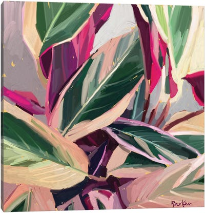 A Painted Plant Never Dies Canvas Art Print