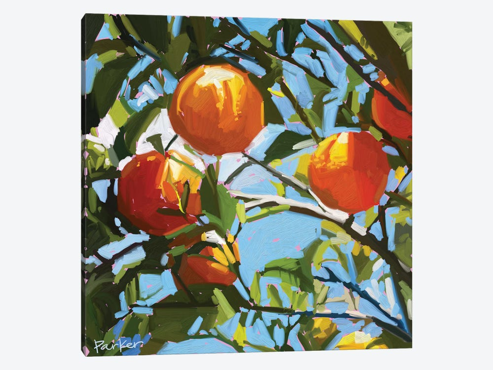 Orange Tree by Teddi Parker 1-piece Art Print