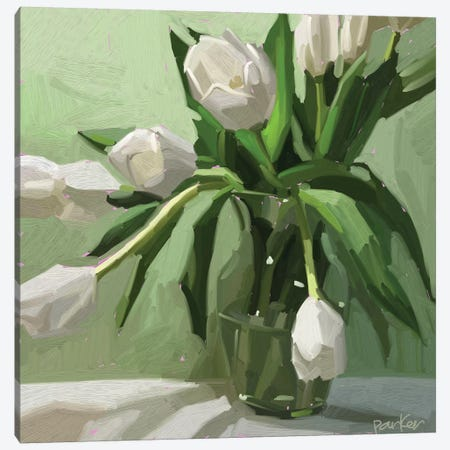 Spring Blooms Canvas Print #TEP29} by Teddi Parker Art Print
