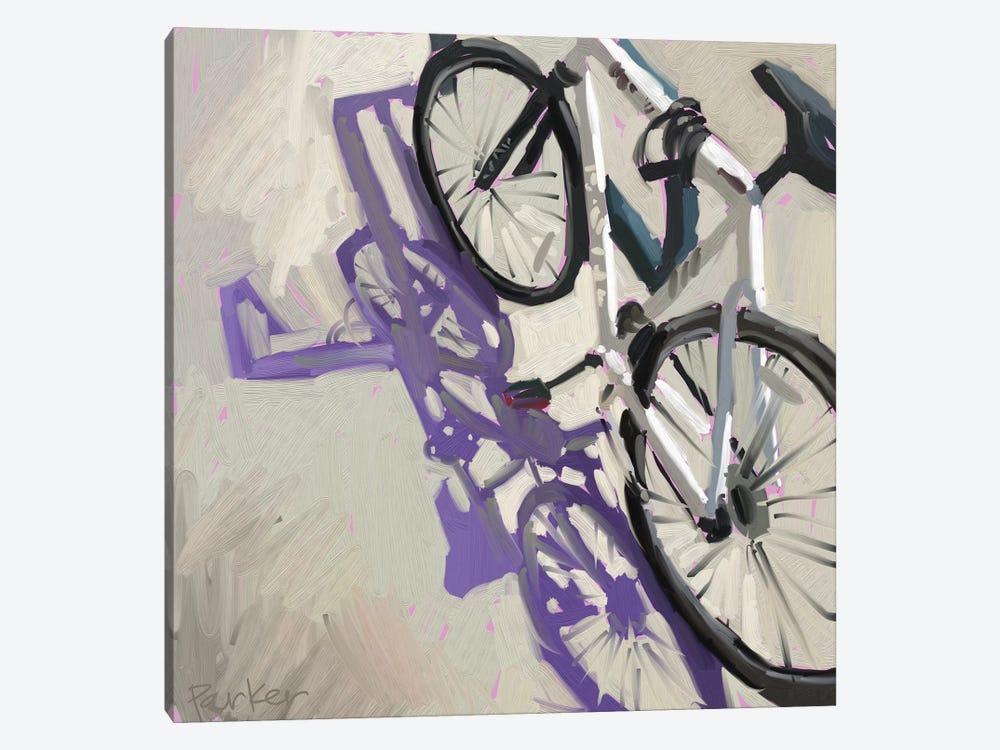 Bike Shadows by Teddi Parker 1-piece Art Print