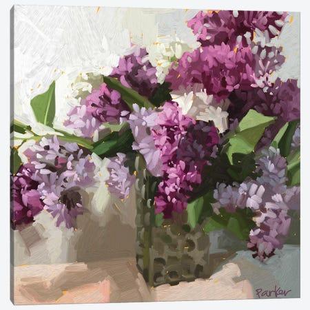 Alley Lilacs Canvas Print #TEP36} by Teddi Parker Canvas Art Print