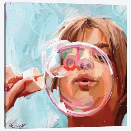 Blowing Bubbles Canvas Print #TEP3} by Teddi Parker Canvas Print