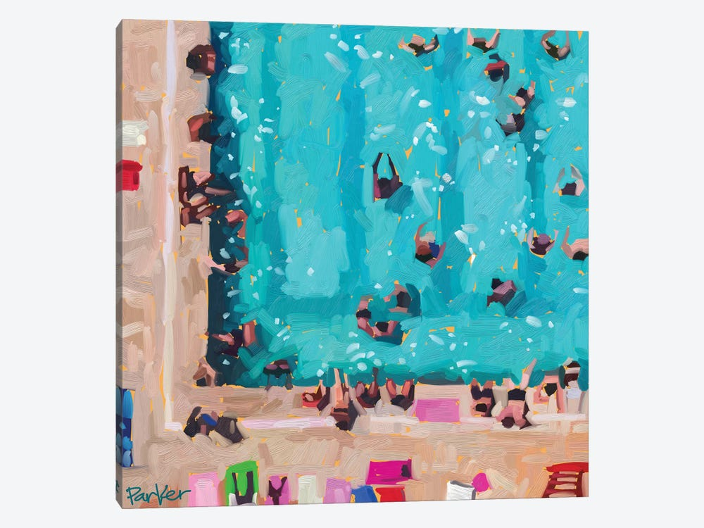 Room In The Pool by Teddi Parker 1-piece Canvas Print