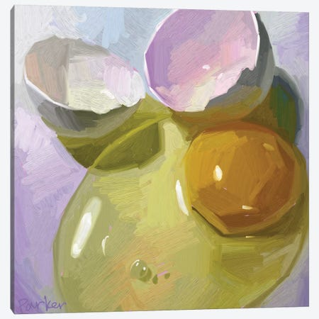 Egg Study Canvas Print #TEP42} by Teddi Parker Canvas Art Print