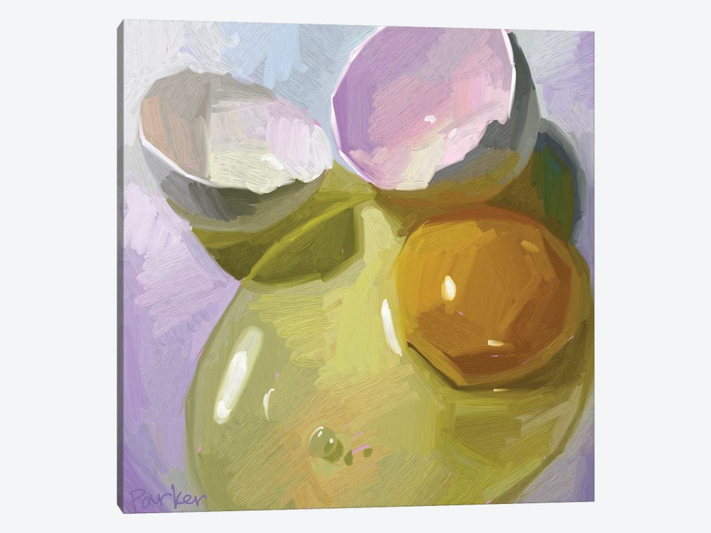 Egg Study 1-piece Art Print