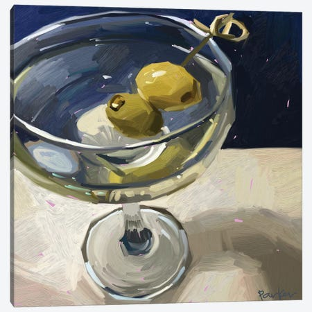 Dirty Martini Canvas Print #TEP49} by Teddi Parker Canvas Art Print