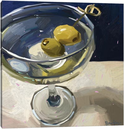 Dirty Martini Canvas Art Print