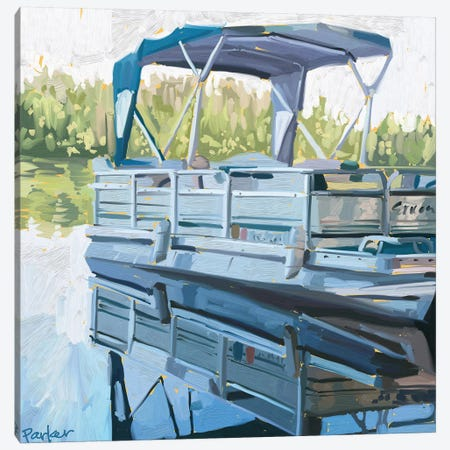 Lake Life Canvas Print #TEP53} by Teddi Parker Canvas Artwork