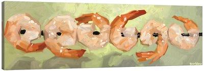 Dancing Shrimp Canvas Art Print
