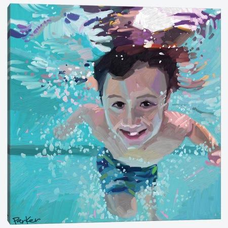 Splash Of Color Canvas Print #TEP59} by Teddi Parker Canvas Wall Art