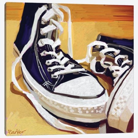 Chucks Canvas Print #TEP5} by Teddi Parker Canvas Art
