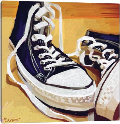 Chucks Canvas Art Print