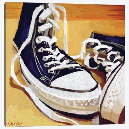 Chucks Canvas Print #TEP5} by Teddi Parker Canvas Art
