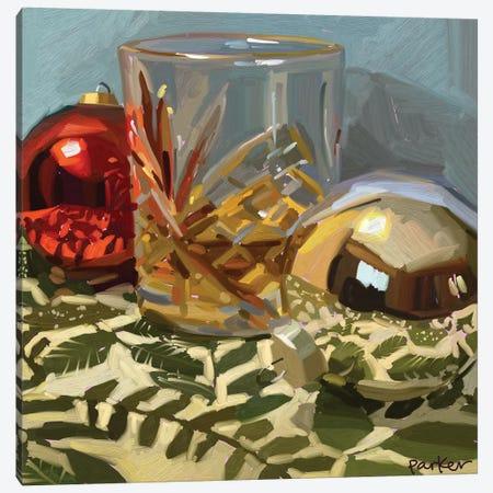 Drink Between Friends Canvas Print #TEP63} by Teddi Parker Canvas Art Print