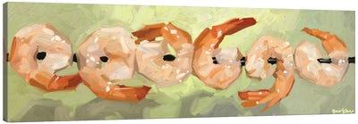 Dancing Shrimps Canvas Art Print