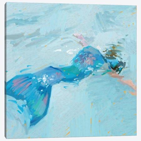 Mermaid Visions Canvas Print #TEP68} by Teddi Parker Canvas Print