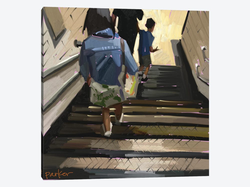 The Tube by Teddi Parker 1-piece Canvas Print