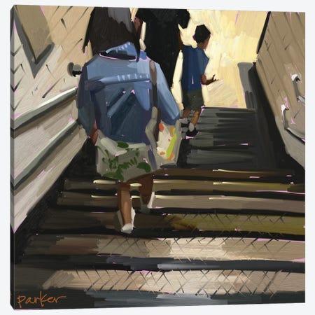 The Tube Canvas Print #TEP71} by Teddi Parker Canvas Artwork