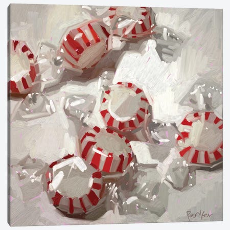 Peppermint Party Canvas Print #TEP74} by Teddi Parker Canvas Print