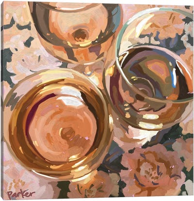 Rosé All Day Canvas Art Print