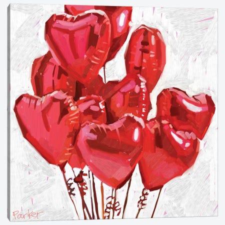 Spread The Love Canvas Print #TEP81} by Teddi Parker Canvas Print