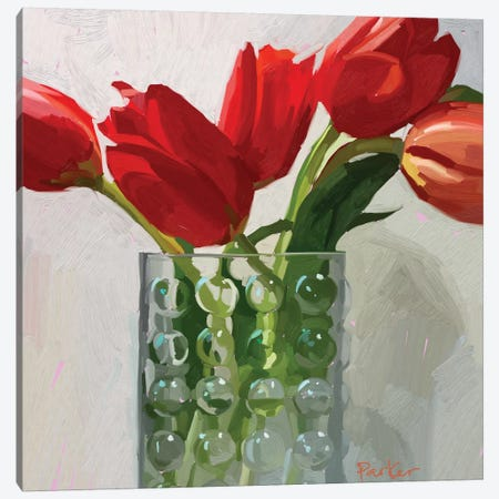 Bubble Glass Canvas Print #TEP85} by Teddi Parker Canvas Wall Art
