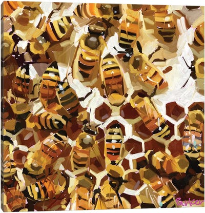 Buzzz Canvas Art Print