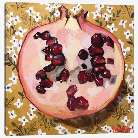 Pomegranate Patterns Canvas Print #TEP88} by Teddi Parker Canvas Art Print