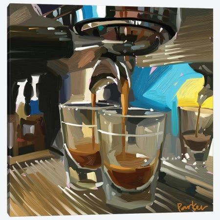 Double Espresso Canvas Print #TEP90} by Teddi Parker Canvas Art