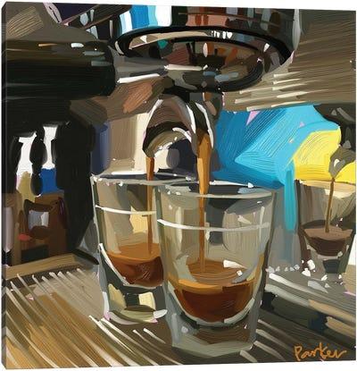 Double Espresso Canvas Art Print
