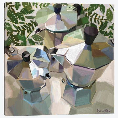 Bialetti Family Canvas Print #TEP98} by Teddi Parker Canvas Art