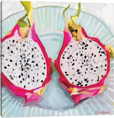 Dragon Fruit Canvas Art Print