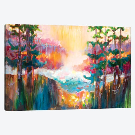 Lagoon  Canvas Print #TES9} by Teresa Smith Canvas Art