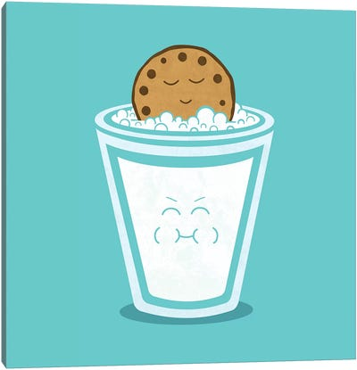 Hot Tub Cookie Canvas Art Print