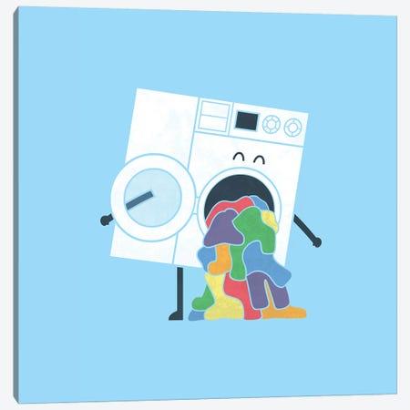 Laundry Day Canvas Print #TEZ28} by HandsOffMyDinosaur Canvas Print