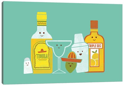 Margarita Canvas Art Print