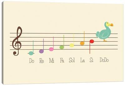 Music Lesson Canvas Art Print