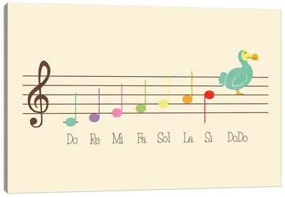 Music Lesson Canvas Art Print