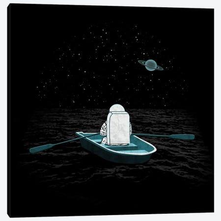 Space Odyssey Canvas Print #TEZ47} by HandsOffMyDinosaur Canvas Art