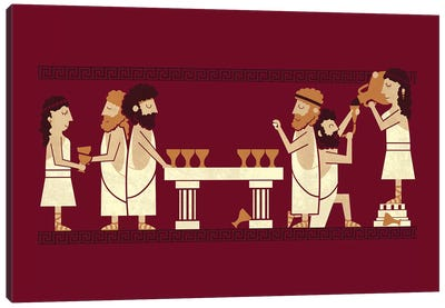 Toga Party Canvas Art Print