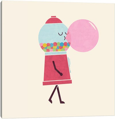 Bubble Gum Canvas Art Print
