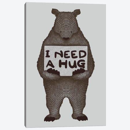 I Need A Hug Canvas Print #TFA100} by Tobias Fonseca Canvas Artwork