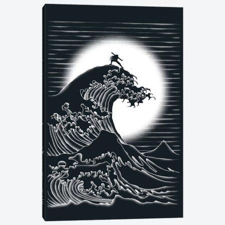 Waterbending Canvas Print #TFA107} by Tobias Fonseca Canvas Print