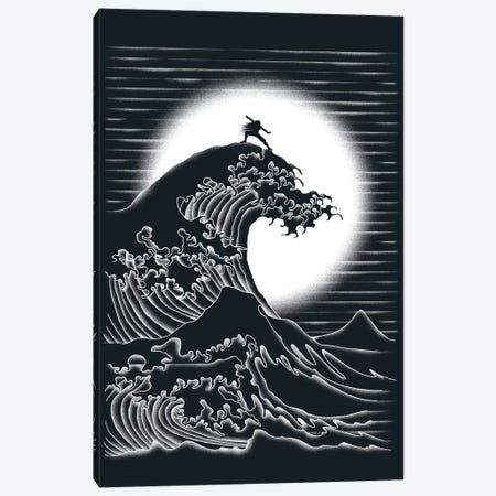 Waterbending Canvas Print #TFA107} by Tobias Fonseca Canvas Print
