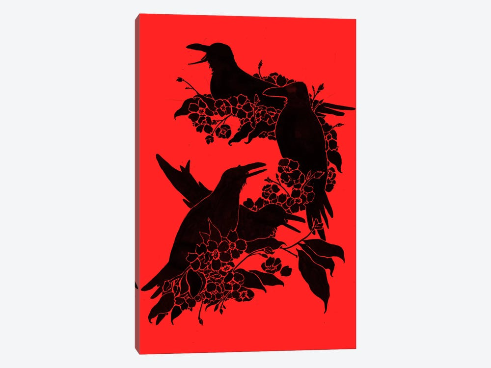 A Feast For Crows 1-piece Canvas Artwork