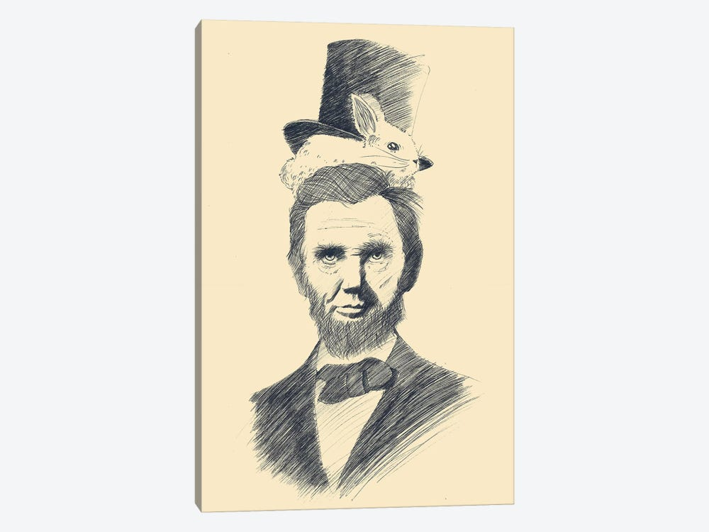 Abraham Kadabraham by Tobias Fonseca 1-piece Canvas Art Print