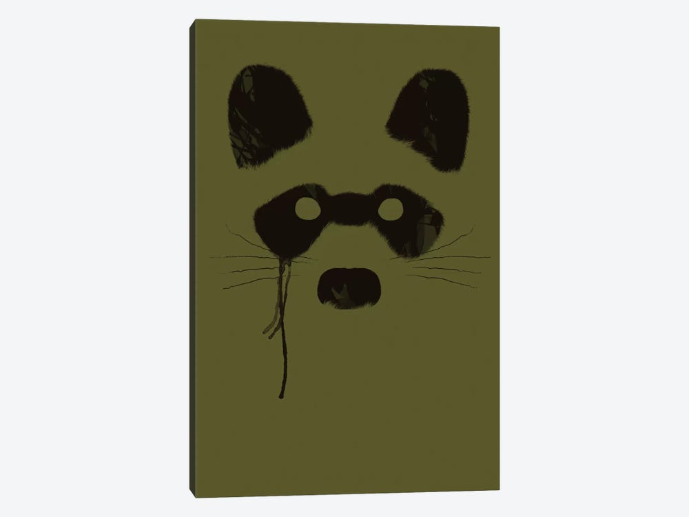 Raccoon by Tobias Fonseca 1-piece Canvas Wall Art
