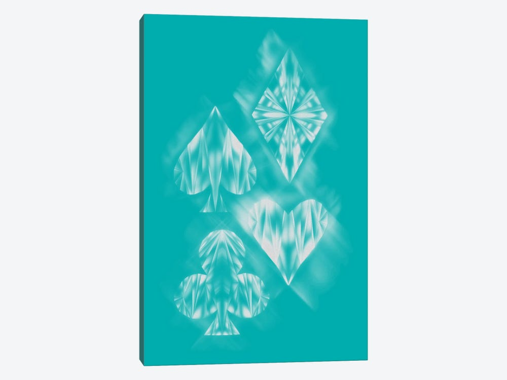 Aces Of Ice by Tobias Fonseca 1-piece Canvas Art Print