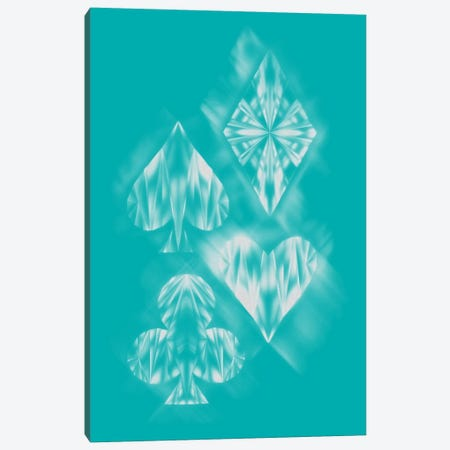 Aces Of Ice Canvas Print #TFA110} by Tobias Fonseca Canvas Print